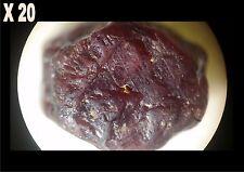 1 Rubis rouge brut de Madagascar 6,55 ct/ pierre précieuse / minéraux / corindon
