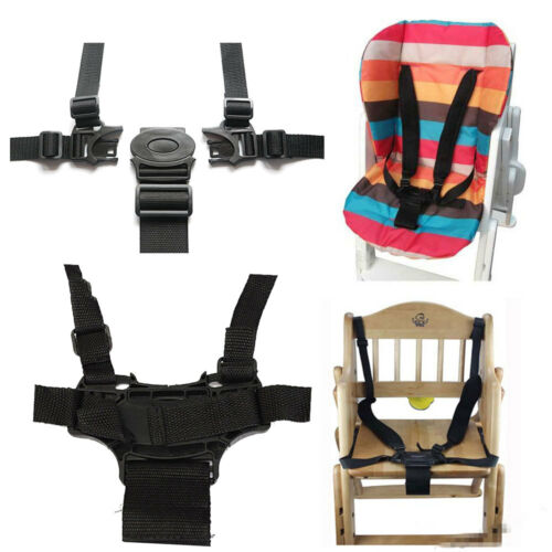 5 Point Baby Infant Safe Belt Strap Kid For Stroller High Chair Pram Buggy