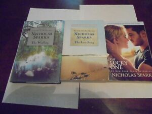 Last Song Wedding.Details About 3 Fiction Books By Nicholas Sparks The Last Song The Lucky One The Wedding