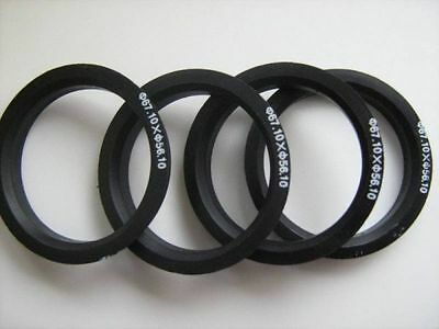 SET OF 4 RINGS 108.5 mm HUB CENTRIC RINGS 112.1 mm 112,1 to 108,5 free shipp