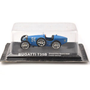 Classic-1-43-BUGATTI-T35B-Model-Car-Collection-vehicle-Kids-Toy-Gift-Blue-car