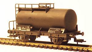 Fleischmann-5033-H0-2-Achser-Kesselwagen-schwarz-DB-573-781-Ep-III-KKK-MDM