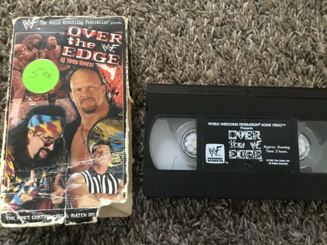 Wwf Over The Edge In Your House Vhs 1999 For Sale Online Ebay