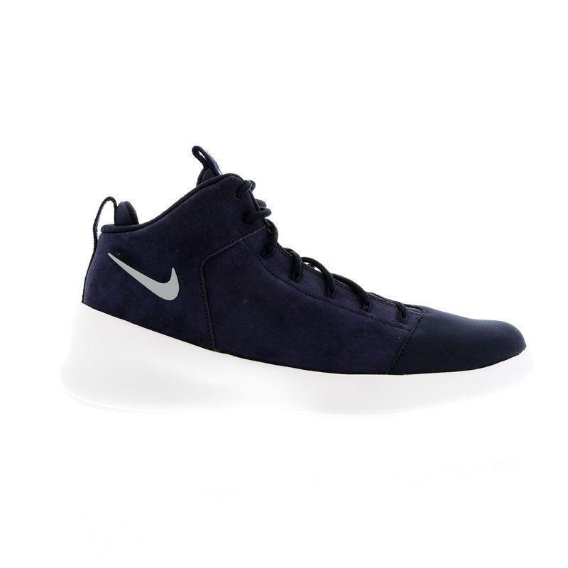 Da Uomo Nike hyperfr 3SH PRM Hi Tops Navy blu Suede Sautope da ginnastica 805898 400 Sautope classeiche da uomo