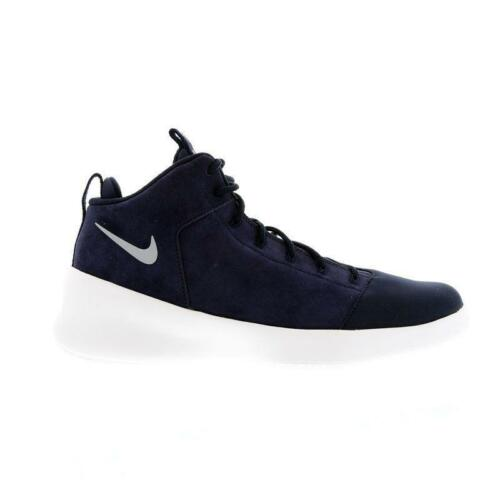 Trainers 805898 Nike Hyperfr3sh Navy Hi blu Tops 400 Prm Suede Uomo 4P8awqT6