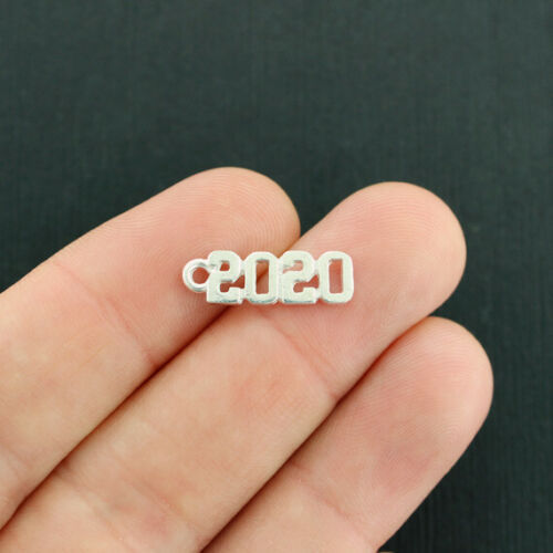 SC2594 10 Year 2020 Charms Silver Tone