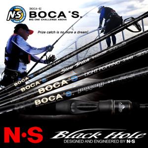 NS Agujero Negro 4-AXIS Nano-Varilla De Cochebono lento pitch jigging Boca S