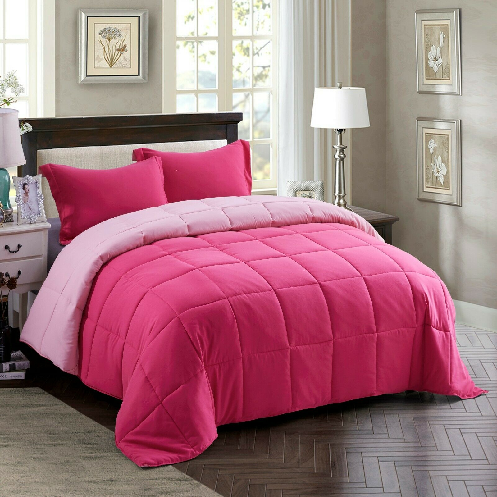 Ugg Redding Reversible Full Queen Comforter Set In Navy Grey For Sale Online Ebay