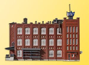 36770 Kibri Z Gauge Kit of a Factory building of Wilhelminian time - NEW