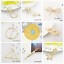 Bridal-Gold-Hollow-Geometric-Metal-Hair-Clips-Clamps-Hairpin-Barrette-Slide-Clip 縮圖 2