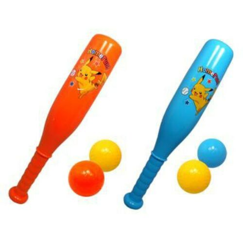 Pokemon XY Squeezable Soft Pip Beep Baseball Play Bat Orange