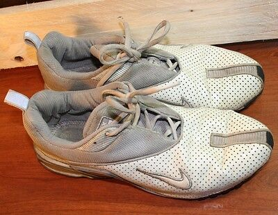 innovative design d8a70 f0527 Women s Authentic Nike Air Max Bohemian Size 9.5 White Grey Silver