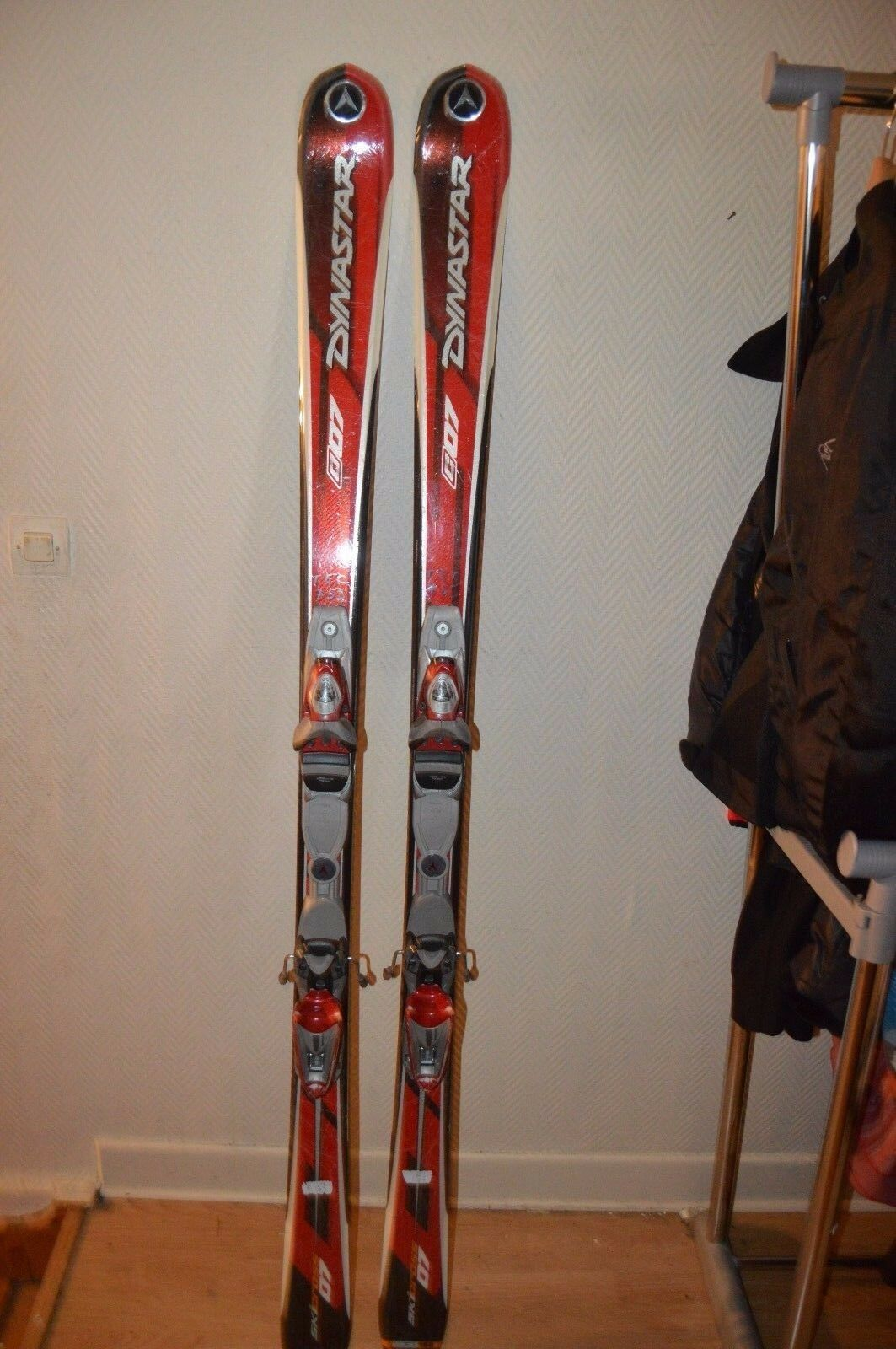 Ski Dynastar Ski cross C07 Size 65 3 8in + Bindings Look Ais 11 Sci   Esqui