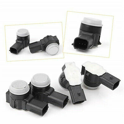 TUPARTS 52050134 New PDC Parking Sensor Backup Assist Sensor Fit for Cadillac Escalade,GMC Sierra 1500 2500 HD 3500 HD,GMC Yukon Yukon XL,Buick Encore Lacrosse,Cadillac CT6 CTS XTS XT5 4PCS