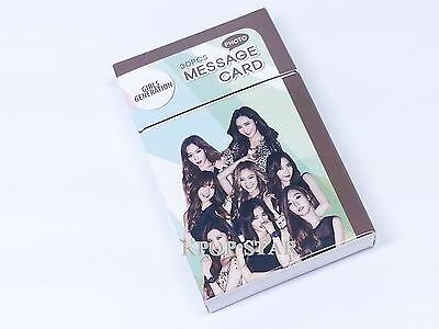 SNSD Girls Generation Photo Message Card ( 30 Piece ) KPOP K-POP Korean K Pop