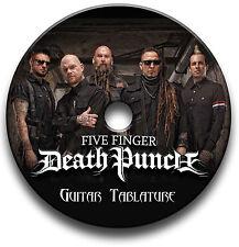 FIVE FINGER DEATH PUNCH METAL ROCK GUITAR TABS TABLATURE SONG BOOK SOFTWARE CD