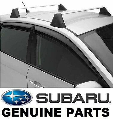 USED Subaru ImprezaWRX STI SideWindowDeflectors VentVisors RainGuards E3610FG200