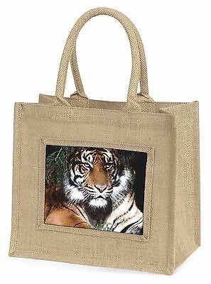 Bengalisch Tiger in Sonnenschutz Große Natürliche Jute-einkaufstasche