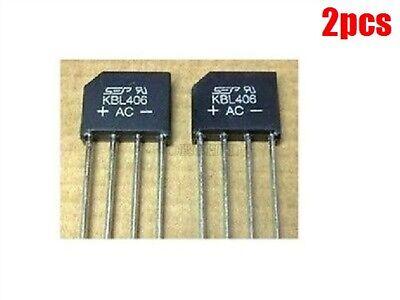 3pcs KBL406 KBL-406 4A 600V Single Phases Diode Rectifier Bridge Single