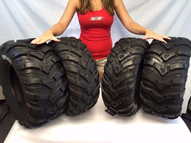 FULL SET 25x8-12 & 25x10-12 CST MAXXIS ANCLA ATV (4) TIRES SET 25-8-12 25-10-12