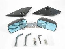 APR GT3 Carbon Fiber Side Mirrors w/ Blue Tint 08+ Mitsubishi Evolution X EVO 10
