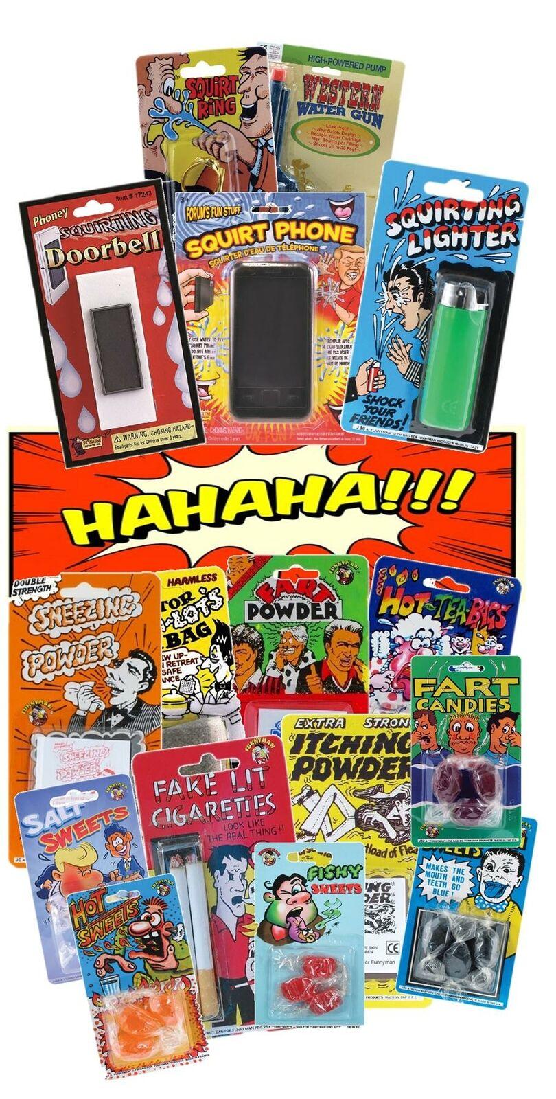 Shock Pen Joke childrens funny party bag gift comedy comedian amusing rude!