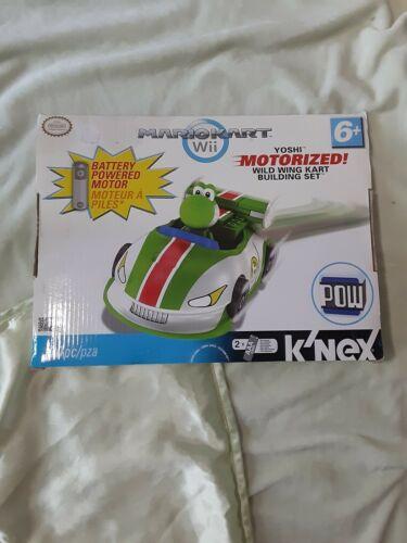 K/'NEX Mario Kart Wii Yoshi Motorized Wild Wing Kart Building Set MarioKart 30pcs