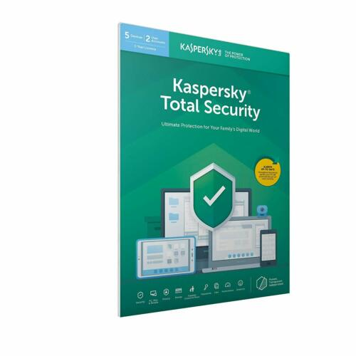 Kaspersky Total Security 2019 5 utenti MULTI DEVICE Inc ANTIVIRUS UK FFP al dettaglio