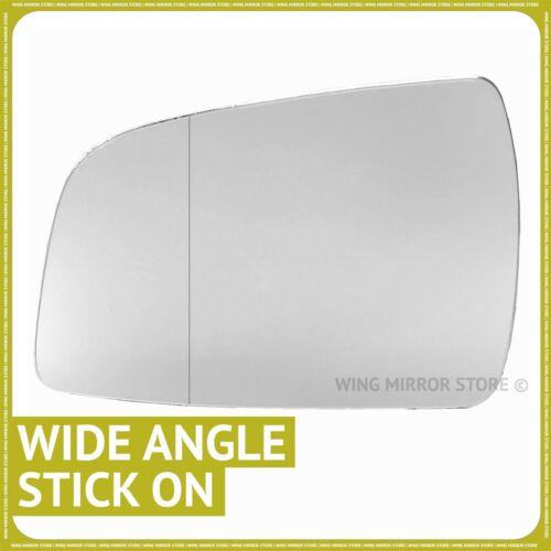 VAUXHALL ZAFIRA B 2009-2014 à Gauche Passager Grand Angle Wing mirror glass