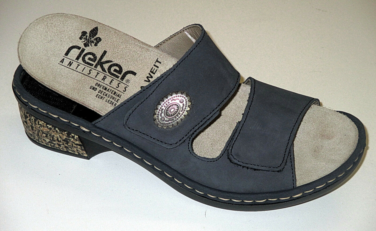 Rieker Schuhe Damen Pantolette  mit herausnehmbare Innensohle, Gr. 37-40, +NEU++