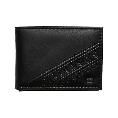 New Billabong Men's Lineup Wallet Black