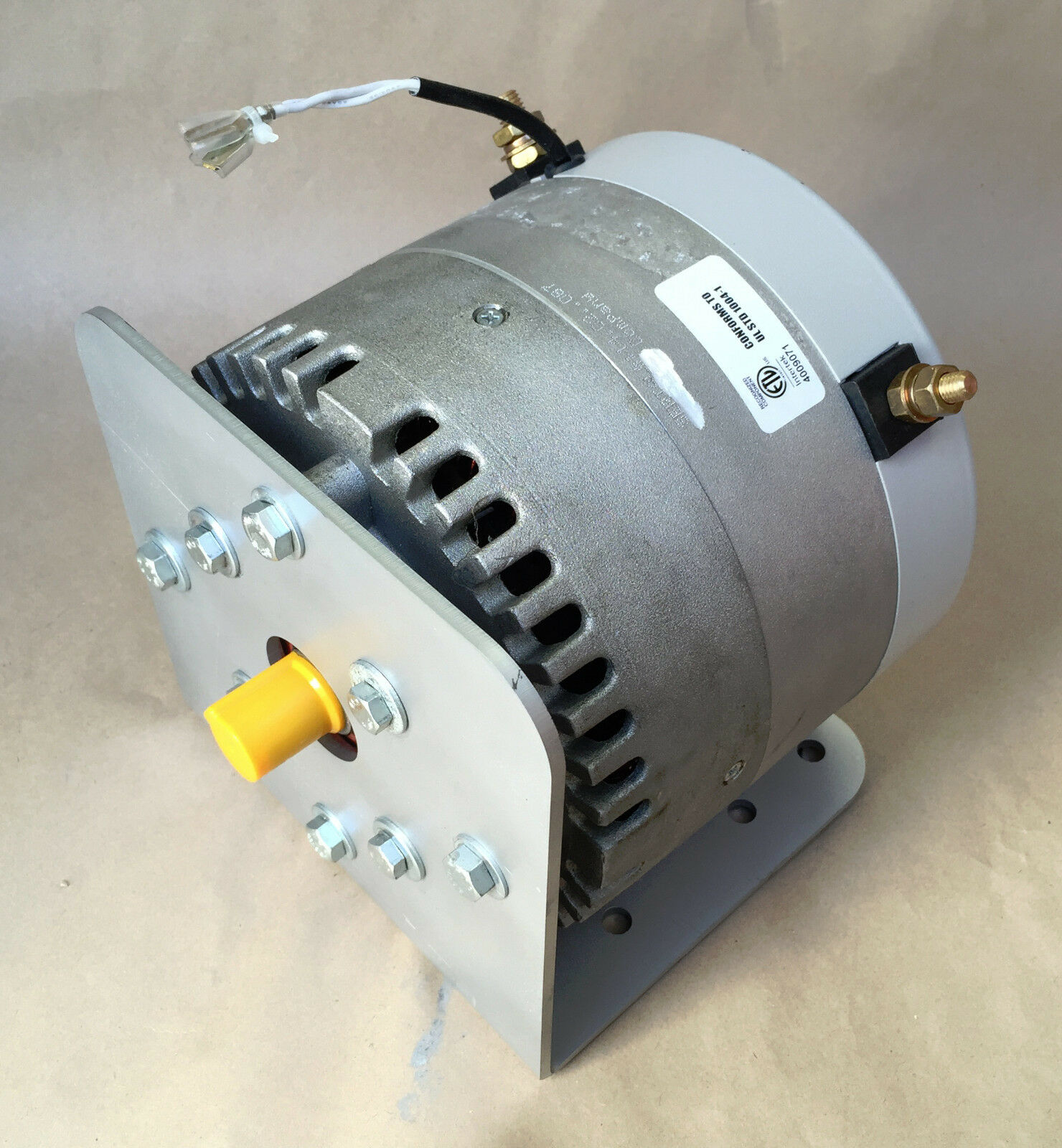 Manta II 10 hp DC electric motor 12 24 48 Etek  Permanent Magnet with new MOUNT