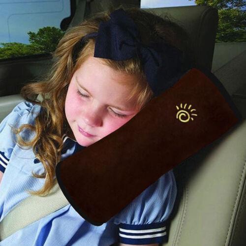2PCS Kids Car Safety Seat Belt Harness Shoulder Strap Backpack Pad Cover 2Colors
