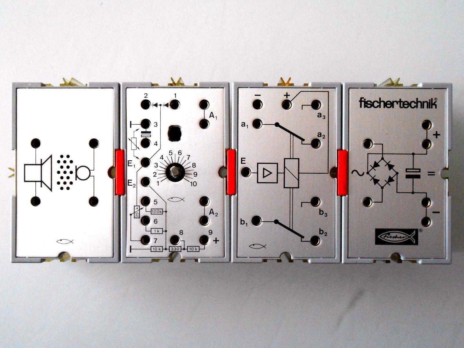 Fischertechnik argentolinge di Hobby4 u-t4 Elettronica Mattoncini   Top