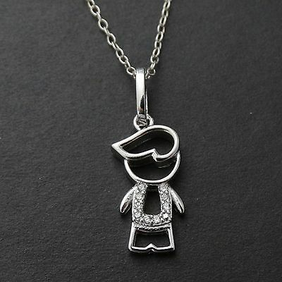 Twin Boys Silver Charm for Family Themed Jewelry