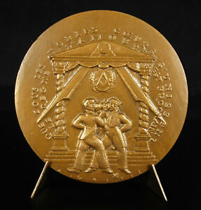 Medal-Agricol-Perdiguier-Joiner-Rite-Guilbrette-Companions-of-Duty-Medal