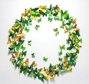 Hot-Green-12PCS-DIY-3D-Butterfly-Wall-Sticker-Decal-Home-Decor-Room-Decoration