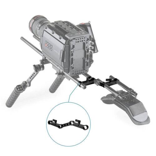 Cámara SLR niceyrig Z-Forma 15mm Soporte de abrazadera de la barra para D Videocámara Hombro Rig