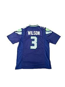 the best attitude 7f376 4ebf7 Details about Russell Wilson Seattle Seahawks Signed Home Jersey Jsa