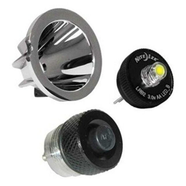 Aa Mini Mag Lite Led Upgrade Bulb Amp On Off Switch Kit With