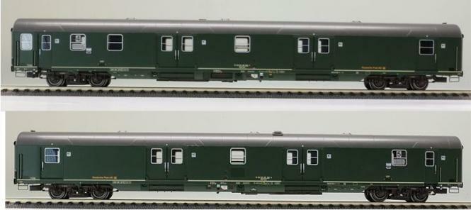 Ls Models 46301 Set de Vagones Deutsche Post Ag Ep.v 2 Teilig Nuevo