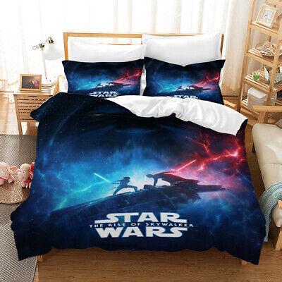 The Rise Of Skywalker 3pcs Bedding Set, Star Wars Bedding Queen