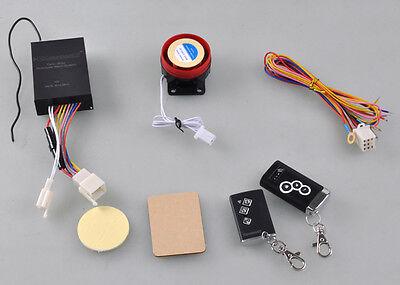 Vic Motorcycle 12V Anti-theft Security Burglar Alarm System Remote Control 2-Way