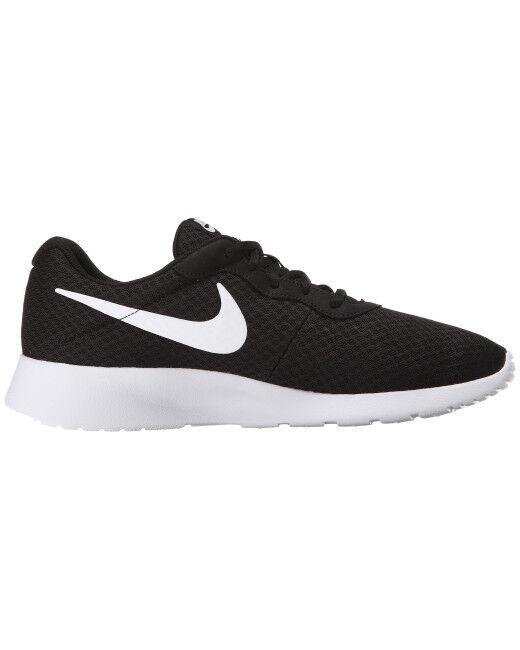 best-selling model of the brand Nike Tanjun Running Shoes Black/White 812654 011 Men's Fast Shipping