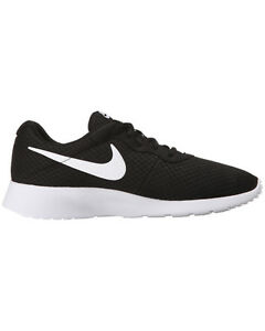 Nike Tanjun Running Shoes Black/White 812654 011 Men's Fast Shipping