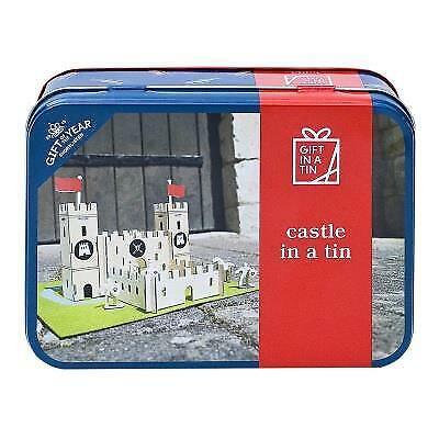 Les pommes aux poires-Build-Cadeau en étain-Château dans une boîte de construction Kit