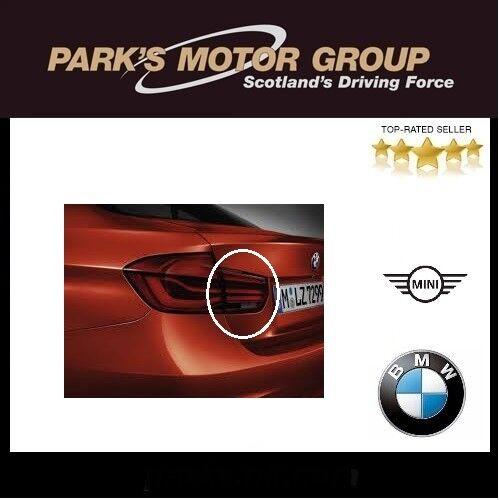 BMW Genuine Trunk Lid Lamp Left M-Sport.Black Line 3 Series F30 F80 63217456521