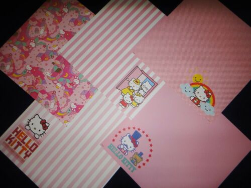 """GIRL HELLO KITTY SCRAPBOOK PAPER PAD *150 SHEETS* NEW 12/"""" x 12/"""" USE WITH CRICUT"""