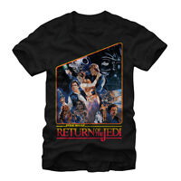 Star Wars Return Of The Jedi Mens Graphic T Shirt