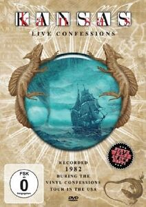 Kansas -Live Confessions USA 82 [DVD]